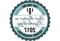 Top 线上 Masters in Psychology Badge